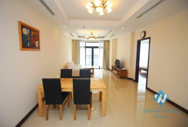 Furnished 02 bedrooms apartment for rent in Royal City, Hanoi