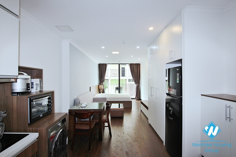 Comfortable studio with full furniture in Tay Ho, Hanoi