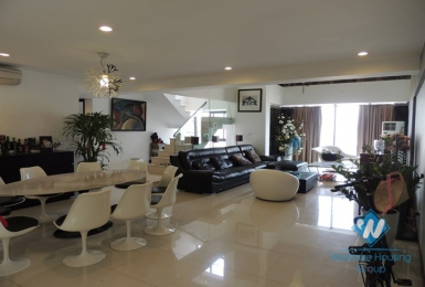 Nice penthouse available for rent in Cau Giay district, Hanoi