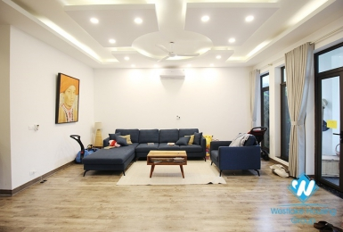 A newly-renovated house in modern styling for rent in Ciputra D Block