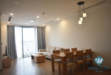 A cozy, fully-furnished 3 bedroom apartment for rent in Vinhomes Gardenia