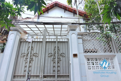Spacious 4-bedroom house with big balcony for rent on To Ngoc Van street