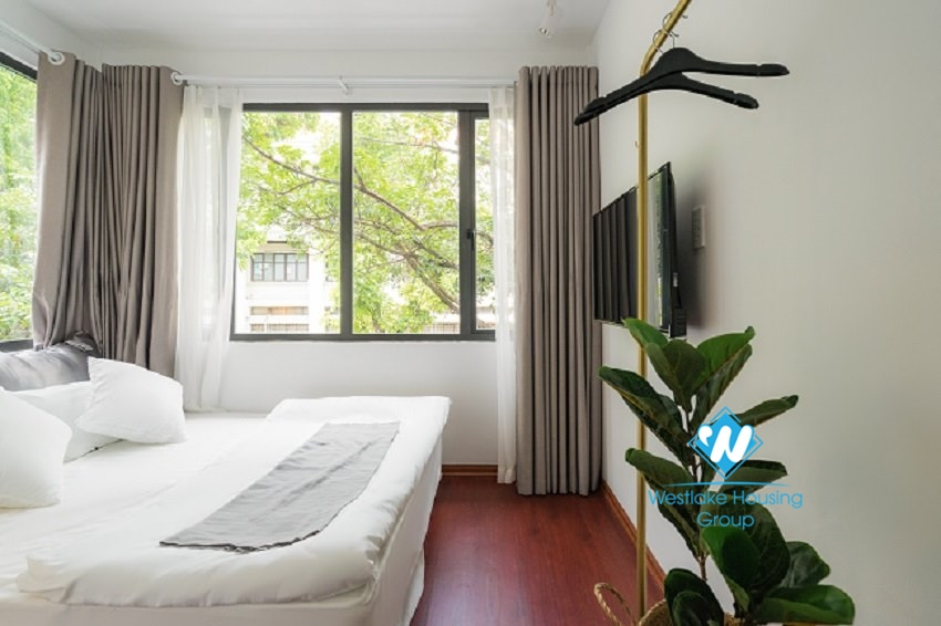 Cheap 4 bedroom apartment for rent in Hoan Kiem District, Hanoi