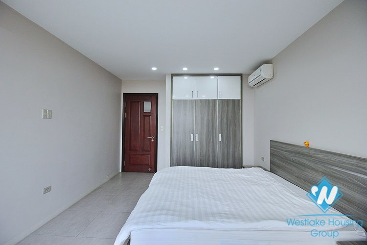 Lake view serviced apartment for rent in Trinh Cong Son street, Tay Ho
