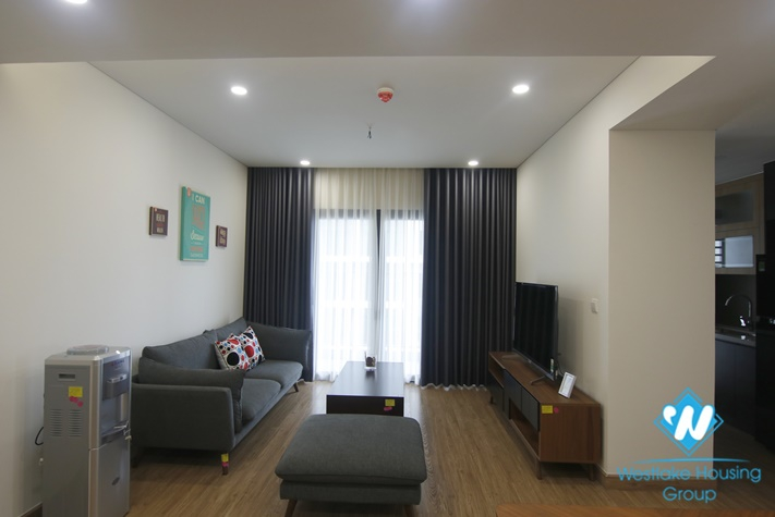 A brand new 2 bedroom with good view apartment for rent in Skypark Cau Giay.