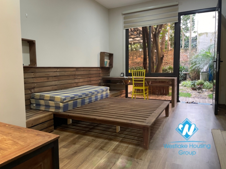 Beautiful 2 bedroom garden house for rent in Tay Ho