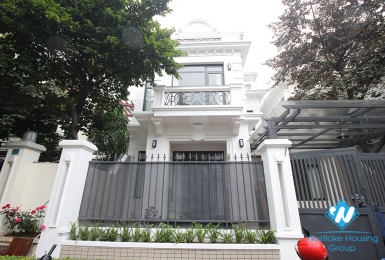 A big, newly-renovated house in Ciputra D Block for rent