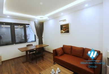 A modern, spacious 1 bedroom apartment for rent on Lieu Giai street, Ba Dinh