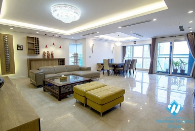 A contemporarily designed, large 267sqm apartment in Ciputra for rent