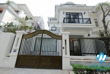 A newly-painted, modern villa in Ciputra C Block for rent