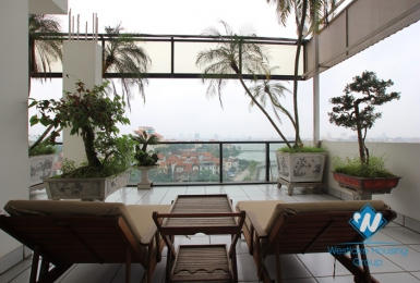 Beautiful and high quality apartment with two bedrooms for rent in Tay Ho, Ha Noi