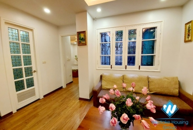 A colorful 2 bedroom apartment for rent on Quan Thanh street, Ba Dinh