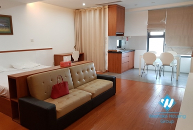 A furnished studio apartment for rent in Star City, Cau Giay District