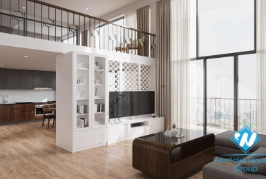 Minimalist, brand new pentstudio apartment for rent in Tay Ho District