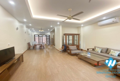 A newly-renovated house for rent in C Block, Ciputra, Tay Ho