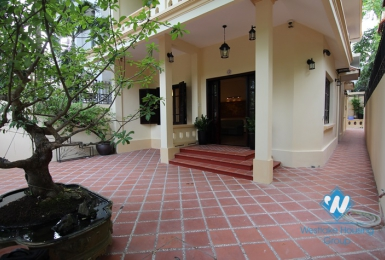Elegant well-finished house for rent in Tay Ho Ha Noi