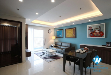 An elegant 3 bedroom apartment for rent in Aqua Central Tower