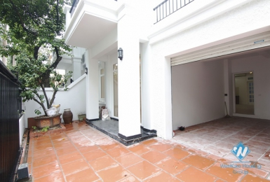 A semi-furnished house with 5 bedrooms for rent in Ciputra T Block