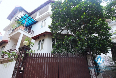 An old Western architecture house for rent in Tay Ho
