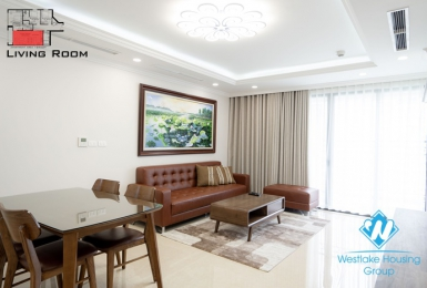 A new and beautiful 3 bedroom apartment for rent in De Leroil Xuan dieu, Tay ho
