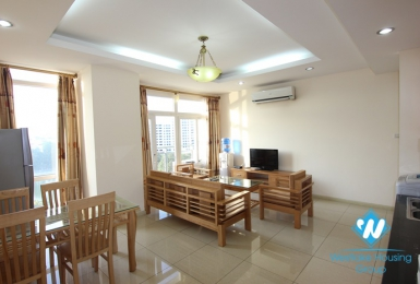 Bright 2 bedroom apartment for rent in Kim ma, Ba dinh, Hanoi