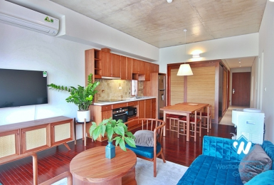 A new duplex 2 bedroom apartment for rent in Tay ho, Hanoi