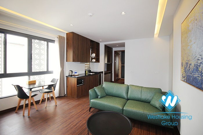 A charming 1 bedroom apartment with nice balcony for rent on Au Co street