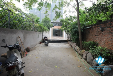 Spacious house with big yard for rent in Dang thai mai, Tay ho, Hanoi