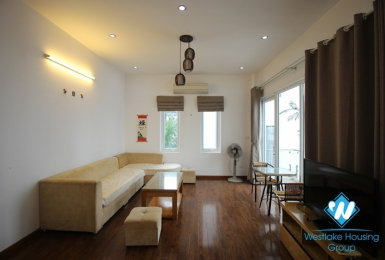 A spacious and brightly 2 bedroom apartment for rent in Tu hoa, Tay ho, Hanoi