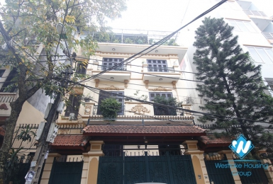 A 5 bedroom house for rent in Truc bach, Ba dinh, Hanoi