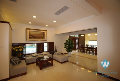 Beautiful house with 4 bedrooms for rent in Quang an ward, Tay Ho district
