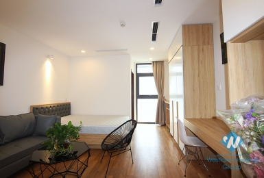 Brand new studio for rent in Truc Bach area, Ba Dinh