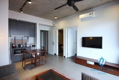 Balcony 1 bedroom apartment for rent in Tu Hoa st, Tay Ho, Ha Noi