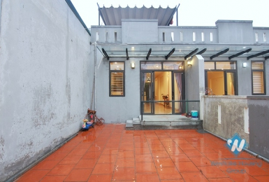 Brand new house with big yard for rent in An Duong, Tay Ho