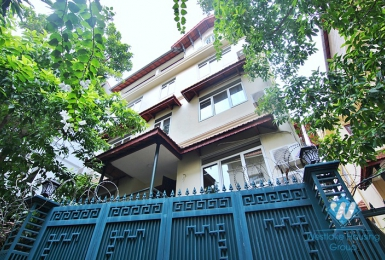 A charming house with pool for rent in To Ngoc Van st, Tay Ho, Ha Noi