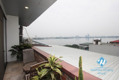 West lake view apartment for rent in Tay Ho, Quang Khanh street