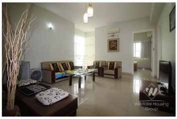 Nice and modern apartment for rent in Ciputra , Hanoi.