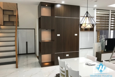 Modern and luxury duplex apartment for rent in Vinhomes Gardenia, Hanoi