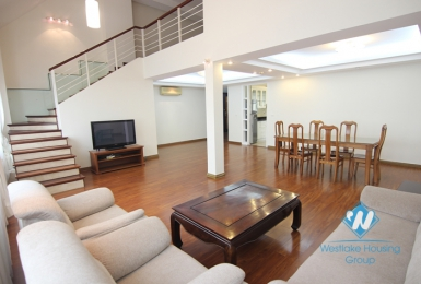 Beautiful and modern penthouse for rent in Ciputra, Tay Ho, Ha Noi