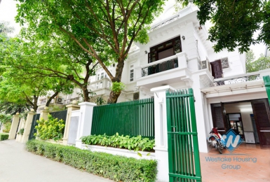 Spacious 5 bedrooms villa for rent in D block, Ciputra, Hanoi