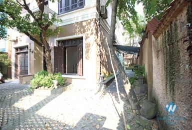 Spacious unfurnished house for rent near UNIS, Ciputra, Tay Ho