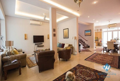 Spacious modern 4 bedrooms villa for rent in Ciputra, Tay Ho, Hanoi
