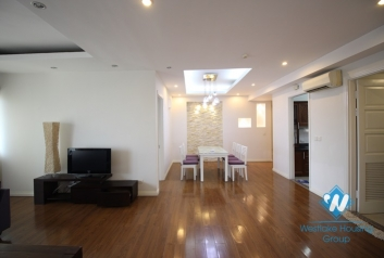 Spacious and bright apartment rental in E building, Ciputra International Ha Noi City