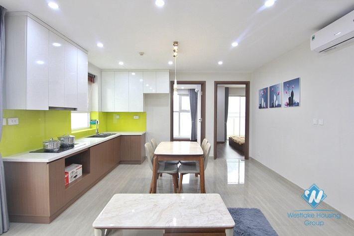 A furnished 2 bedroom apartment for rent in Ciputra