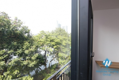 A brand-new studio with lake view on Tran Vu street, Truc Bach area, Ba Dinh
