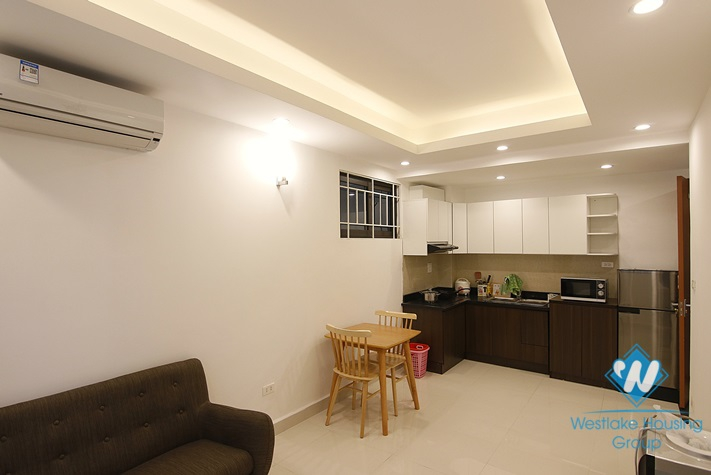 A modern one-bedroom apartment on Dao Tan st, Ba Dinh