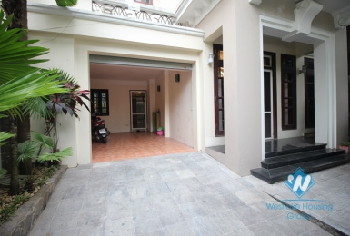 Luxury villa for rent in C Ciputra, Tay Ho, Ha Noi