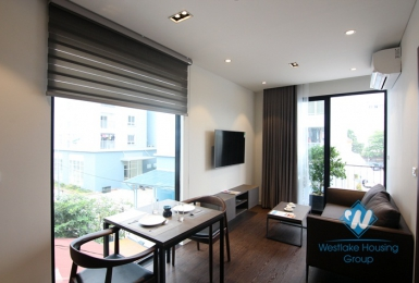 A brand new and modern apartment for rent in Lac Long Quan, Tay Ho