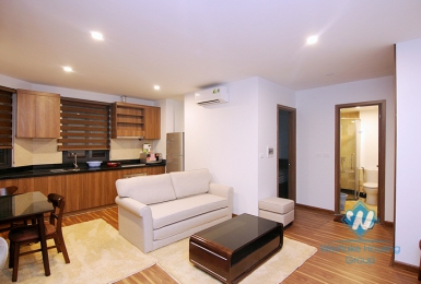 A brand new 1 bedroom apartment on ground floor in Tay ho, Ha noi