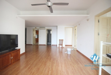 A cheap 4 bedroom apartment for rent in Ciputra, Tay ho